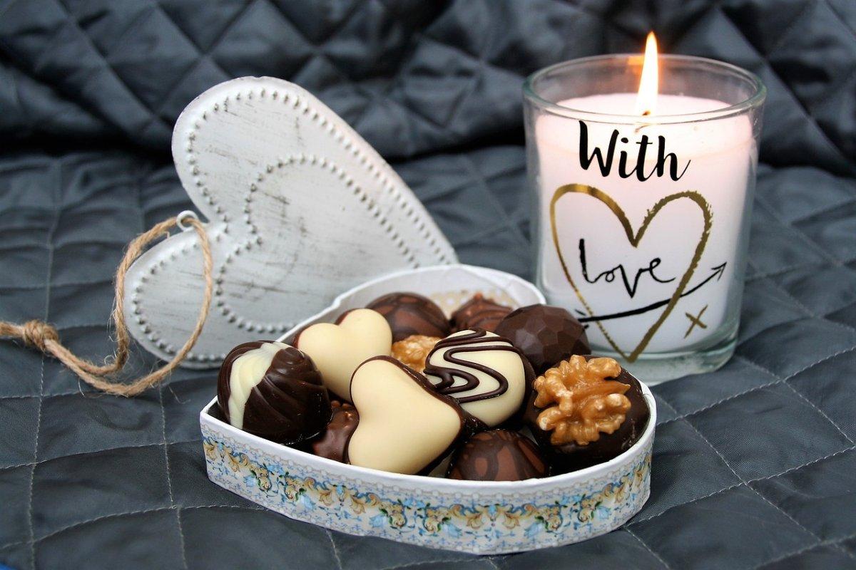 świeczka i ciasteczka