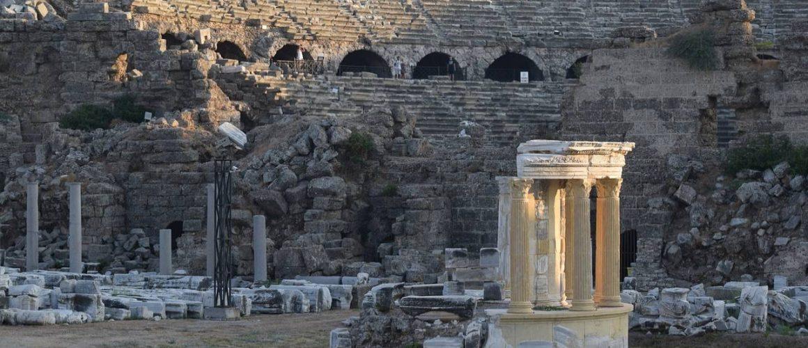 starożytny teatr w side