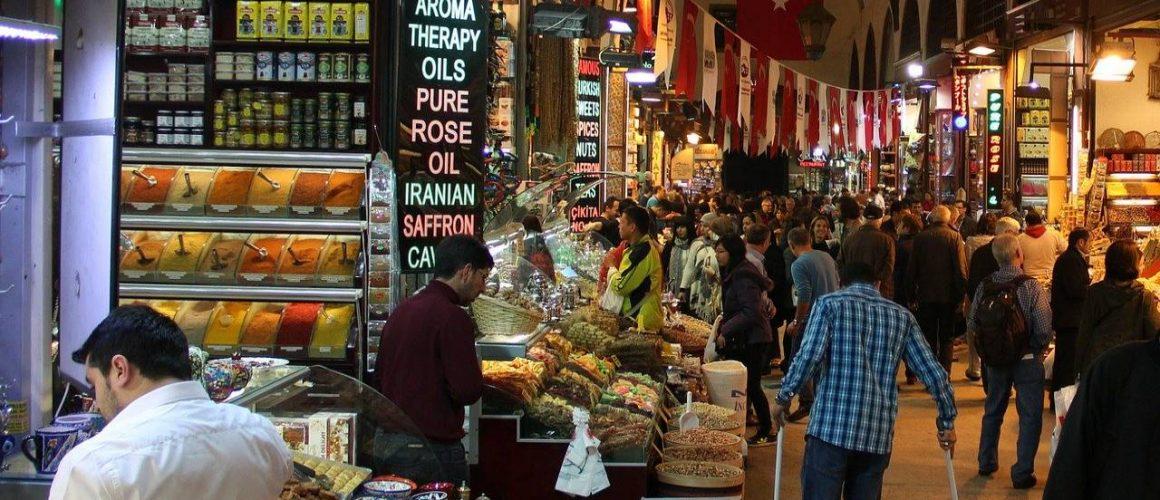 bazar w Turcji